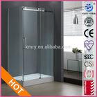 One Sliding door Rectangle Shower Screen (KT8115)