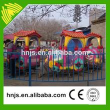 Amazing!!! Amusement park children rides cartoon train