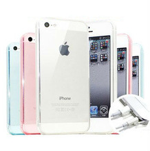 TPU Phone Case For iPhone 5 case transparent cover