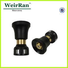 (21787) garden big volume adjustable plastic ultimate hose vee jet brass full cone jet brass spray lance and nozzle
