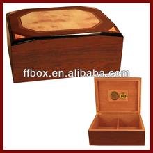 Special Design Unique Shape Wooden Humidor Case