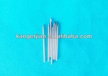 Disposable sterilized blood test needle