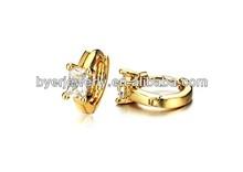 wholesale earrings fashion 2013 3 gram gold beautiful designed earrings