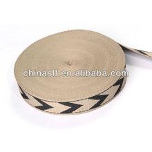 2014 New Patterned Webbing / Wholesale Cotton Webbing / Custom Web Belts