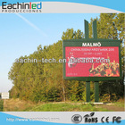 P16 outdoor digital signage/full-color LED advertising display/led ticker display sign