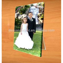 Custom modern acrylic magnetic phone/poster frame/block