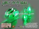 HJ's Best For Professional Yo Yo Green Color 2 Sides LED Flash