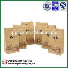 food grade kraft paper bag / wholesale brand name bags