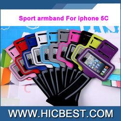Fashion PVC Sports armband case for iphone