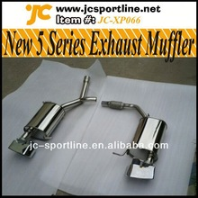 High Quality 304 Steel F10 exhaust accessories,New 5 Series Square Style Muffler Pipes For BMW F10