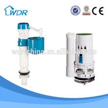 Bathroom accessory single piece toilets 3/6 Liter dual press flush mechanism