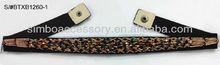 fashion stretch fabric band and beading jewelry lady waist belts