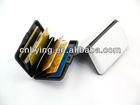 NEW hard Aluminum Wallet Men Women Credit Card Holder Case 8 different colours