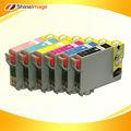 T0771-t0776 para epson de tinta máquina de recarga de cartuchos