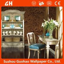 flock velvet wallpaper home decor wall paper 2014 new design