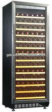 108 bottle built-under stainless steel beer and wine cooler SRW-128S/12 Volt Compressor Refrigerator