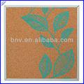 venta al por mayor calidad decorativa de corcho tableros de anuncios