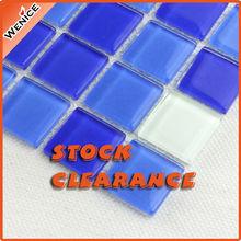 China alibaba crystal glass mosaic tiles bathroom
