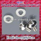 titanium bolt & nut protection cap with flange