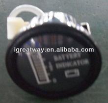 battery gauge (round)