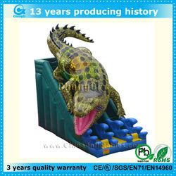 2014 attractive inflatable crocodile slide,crocodile slide,hot sale crocodile inflatable slide