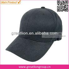 Fashion men black baseball cap manufacturer