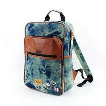 LANGUO 2014 newest jean backpack bulk/schoolbag for wholesale model:LGNZ-1935