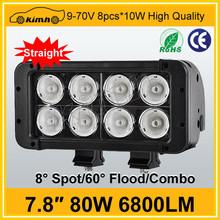Camry headlight high performance 80W led roof light bar
