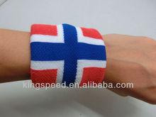 promotional UK world cup flag sweatbands
