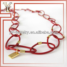 New Fashion Leather Band Leather Necklace