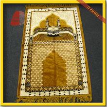 New popular muslim prayer mat with compass