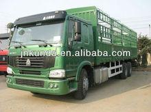 HOWO 6X4 Box Truck Dimension