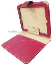 fashion leather pad case, hotsale tablet PC leather case,fashion leather case