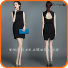 2013 Fashion Lady Hot Sale Black Sequin Dress Long Sleeve