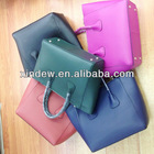 2014 new design genuine leather bag for women