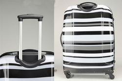Styish men travel bags with 4 spinner luggage