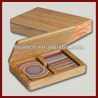 Wood Souvenir Box For Play Card