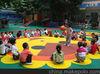 children protection rubber tiles for kindergarden court