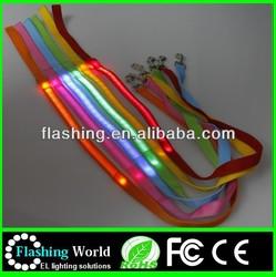hot selling top quality custom led dog leashes