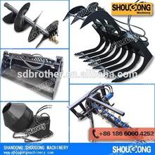Skid Steer Loader attachments manufacturers
