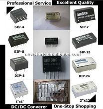 AM2D-2415S-RZ,2 watt 1000Vdc Isolation SIP-7 DC/DC converter