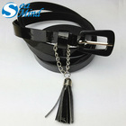 Ladies fashion belts Belt Decorated with Tassels