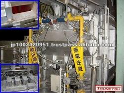 Aluminum melting furnace / holding furnace for die casting