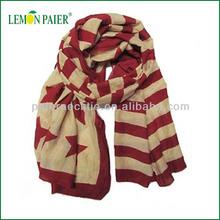 The Newest Design Stripe Pattern Fashion Scarf