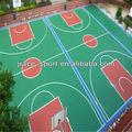 Silizium pu-material basketball gummibeläge