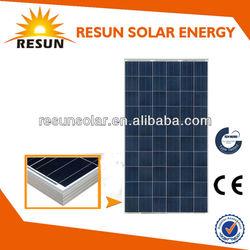High Efficiency poly solar panel kit for best price per watt solar panel