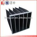 bolsillo de negro de carbón activado del filtro de aire