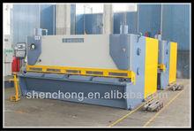 10mm SS hydraulic shearing machine guillotine for cutting metal