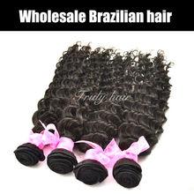 bresilienne hair ,virgin curly human hair