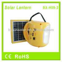 2014 Portable solar and camping led lanterns with USB phone charging